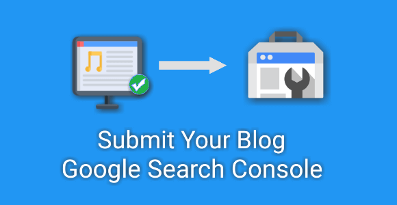 submit blog in Google search console