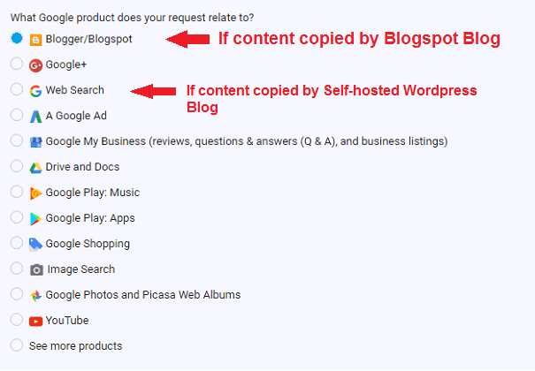 Removing content from Google
