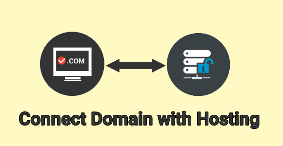 connect domain with hosting